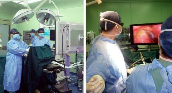 肿瘤医院头颈外科成功开展3d腔镜下甲状腺手术 (转载)